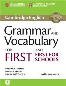 Obrazek Grammar and Vocabulary for First and First for Schools with answers