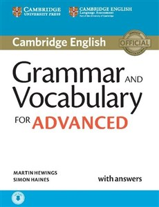 Obrazek Grammar and Vocabulary for Advanced with answers