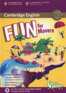 Obrazek Fun for Movers Student's Book + Online Activities + Audio + Home Fun Booklet 4