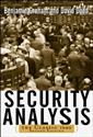 Image de SECURITY ANALYSIS CLASSIC 1940 EDITION