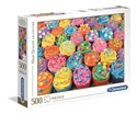 Obrazek Puzzle High Quality Collection Colorful Cupcakes 500