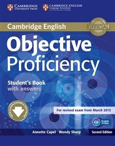 Obrazek Objective Proficiency Student's Book with Answers