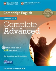 Image sur Complete Advanced Student's Book without answers z płytą CD